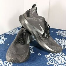 Brooks Mens Levitate 4 1103451D095 Black Gray Running Shoes Lace Up Size 9.5 D