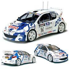 TAMIYA 24221 Peugeot 206 WRC 1:24 Plastic Model Kit
