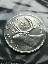*** CANADA  25  CENTS  1979 ***  SEALED  PROOF  LIKE  ***