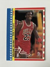 1987 Fleer Michael Jordan #2 Sticker Chicago Bulls 🔥