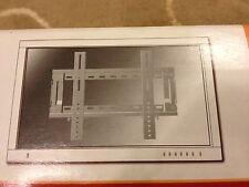 """K2 K2-F-S TV wall mount bracket for 23-40"""" flatscreen TVs.  Heavy duty, silver."""