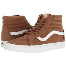 Vans Sk8 Hi Reissue Piel Premium Teckel Zapatos Marrones Hombre 7.5 Mujer 9 9f08377f126