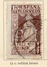 Spain 1937 Early Issue Fine Used 15c. NW-21641