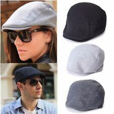UK Bonnet Homme Femme Golf Conduit Béret Casquette Chapeau Coton Hiver Chaud Cap