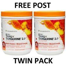Beyond Tangy Tangerine Citrus Peach Fusion x 2 Dr Joel Wallach Youngevity BTT