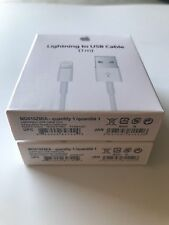 2 PACK ✅ - New Original Apple Lightning to USB Charge Cable iPhone 6s/Plus/5/SC