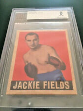 1948 Leaf Boxing Jackie Fields #18 BVG 8