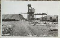 Virginia, MN 1930s Mining Postcard: Shaft Mine - Minnesota Minn