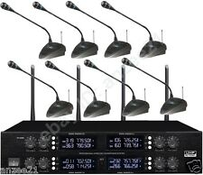 Pro D880 Wireless Digital Microphone Conference Meeting System UHF 400 Channel