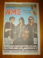 NME 1992 AUG 1 ICE CUBE LUSH MARY CHAIN MINISTRY BLUR