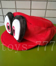 Super Mario Odyssey Cartoon Character Cappy Hat Cuddly Caps Plush soft Red hats