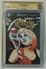 Original Sketch Detective Comics #20 CGC 9.8 Harley Quinn Suicide Squad C Thorne