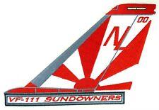 USN VF-111 SUNDOWNERS TAIL PATCH