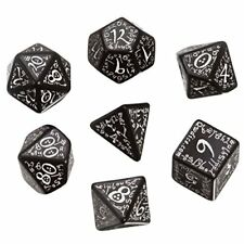 Q-workshop dados elfos (negro-blanco)