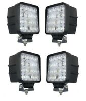 4x48W 3Wx16 kaltweiss LED Scheinwerfer Arbeitsscheinwerfer Garten lampe 12-24V
