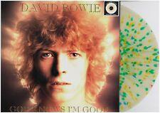 DAVID BOWIE GOD KNOWS I'M GOOD RARE SPLATTER VINYL LP 63 NUMBERED COPIES NO TMOQ