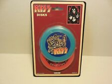 KISS FLYING DISK NEW ON CARD