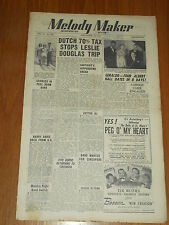 MELODY MAKER 1947 #736 SEPT 13 JAZZ SWING LESLIE DOUGLAS GERALDO BILLY COTTON
