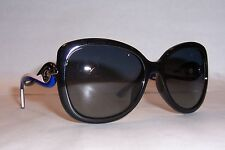 NEW CHRISTIAN DIOR TWISTING/S JWS-HD BLACK/GRAY SUNGLASSES AUTHENTIC