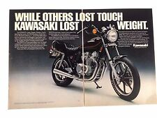 1981 Kawasaki KZ550 LTD Motorcycle Original Print Ad