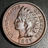 1897 INDIAN HEAD CENT - With LIBERTY & DIAMONDS