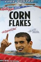 Olympic 2008 Michael Phelps Cereal Box XXIX Olympiad Summer Olympics Kelloggs