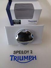 TRIUMPH BONNEVILLE THRUXTON SCRAMBLER CHROME BILLET PETROL FUEL CAP A9730176