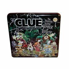Disney Games Clue The Twilight Zone Tower Edition In Keepsake Tin