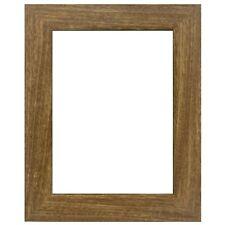 "Us Art Frames 1.25"" Flat Natural Oak Mdf Wall Decor Picture Poster Frame"