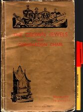 Rare! Prepared for  Edward VIII Coronation: THE CROWN JEWELS  & CHAIR THRONE