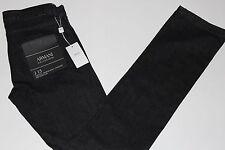NWT$225 ARMANI COLLEZIONNI Slim Straight Jeans size 32x34, COLOR: Dark Grey