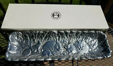 Arthur Court 1990 Vintage Aluminum Bunny Rabbit Large Rectangular Tray