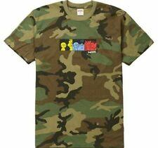 Supreme Life Tee Woodland Camo T-Shirt Top, Size XL