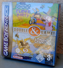 Jeu CARTOON NETWORK BLOCK PARTY & SPEEDWAY sur Nintendo Game Boy Advance NEUF