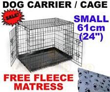 Articles noir pour petits chiens en métal pour chien