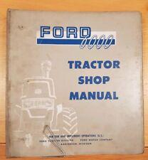 ORIGINAL FORD 6000 TRACTOR REPAIR MANUAL