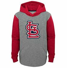 St. Louis Cardinals Youth Boys New Beginnings Pullover Hooded Sweatshirt