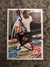 Signed Vereniki Goneva Fiji Rugby Attax 2015 Card