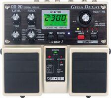 boss dd-20 giga delay gitarren effekte pedale free shipping from japan