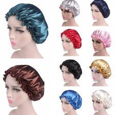 Women's Night Sleep Hat Hair Care Chemo Cap Satin Lace Bonnet Turban Headwrap