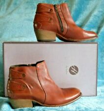 Hudson Rosse Calf Tan Ankle Boots 39