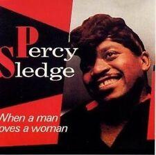 Percy Sledge When a man loves a woman (16 tracks, 1987) [CD]