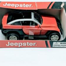 New Ray NewRay Toys Red Jeep Jeepster 1:32 Diecast NIP 2002 SS-50913 Chrysler