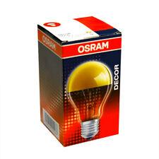 OSRAM BOMBILLA 40w E27 Oro Espejo Frontal Lámpara reflectora SUPERIOR