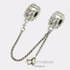 Authentic Pandora Sterling Silver Grains of Energy Safety Chain 797588-05