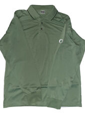 Publix Long Sleeve Polo Uniform Shirt - Green - Men's Size M