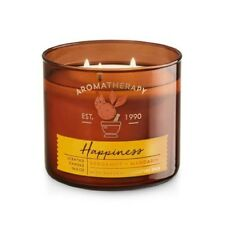 Bath and Body Works Aromatherapy HAPPINESS Scented Candle 14.5OZ