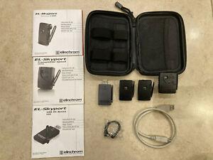 Elinchrom EL-Skyport RX Speed Trigger USB Transmitter Transceiver set with case