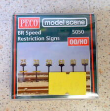 New Model Scene Accessories BR Speed Restriction Signs Ref.5050