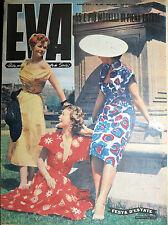"""* EVA N°26/ 24/GIU/1950 * Rivista per la donna italiana diretta da """" Sonia """" *"""